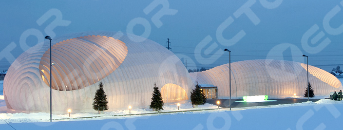 Inflatable buildings